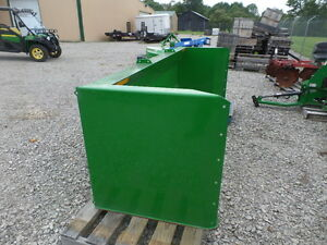 Frontier As11 Heavy Duty Push Blade For Silage Or Snow Fits Jd Loader