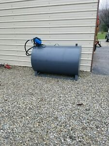300 Gallon Fuel Tank Transfer Storage Gas Oil Diesel Biodiesel Farm Construction