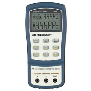 Bk Precision 830c 11 000 count 200 Mf Dual display Handheld Capacitance Meter