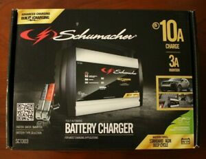 Schumacher Fully Automatic Battery Charger 12 Volt And 6 Volt 10 Amps Sc1303