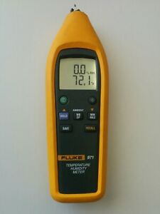 Fluke 971 Temperature Humidity Meter Tester As is Read