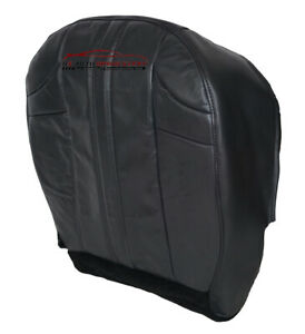 2002 Jeep Grand Cherokee Driver Bottom Limited Suv Leather Seat Cover Dark Gray