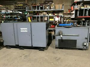 Atlas Copco Air Compressor Gau507 51982 Run Hours