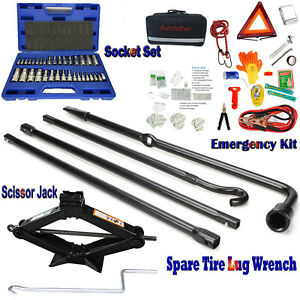 Survival Bag Emergency Rescue First Aid Roadside Assistance Kit Spare Supplies
