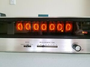 Hp Hewlett Packard 5323a Electronic Frequency Counter Nixie Tubes Vintage Rare