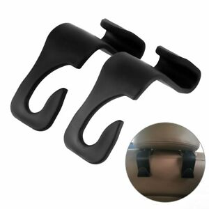 New 2x Vehicle Universal Car Back Seat Headrest Hanger Holder Hook For Bag Purse