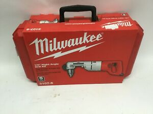 Milwaukee 1 2 Right Angle Drill Kit 3107 6 free Shipping