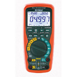 Extech Ex540 12 Function True Rms Industrial Multimeter datalogger 914mhz