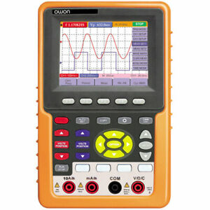 Owon Hds1022m n 20 Mhz Handheld Dig Storage Oscilloscope 100ms s Dual Channe