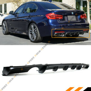 Performance Style Rear Bumper Diffuser For 2012 18 Bmw 3 Series F30 F31 M Sport