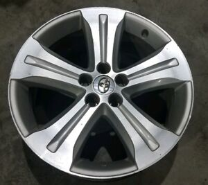 2008 2013 Toyota Highlander 19 Inch Oem 19 Silver Machined Wheel Rim 69536 Sctc
