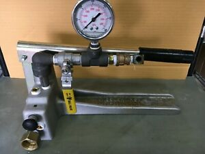 Hydrostatic Test Pump 600 Psi Wheeler rex