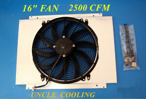 Kks Shroud W 16 Fan For 1980 1993 Ford Mustang Cougar Electric Fan