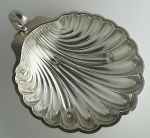 Sterling Silver 401 Grams Large Shell Dish Pattern D282a International Silver