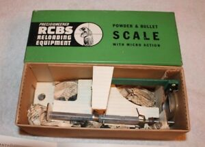ULTRA RARE RCBS reloading powder scale 1967 Model