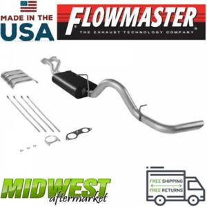 Flowmaster Cat Back Exhaust System Fits 1996 1999 Gm Tahoe Yukon 5 7l 2 Door