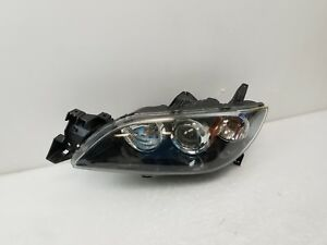 2004 2005 2006 2007 2008 2009 Mazda 3 Sedan Lh Driver Headlight Oem