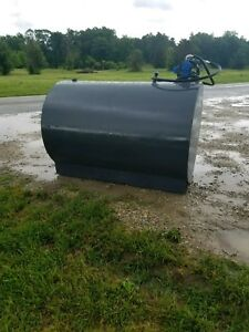 550 Gallon Fuel Tank Transfer Storage Gas Oil Diesel Biodiesel Farm Constructio