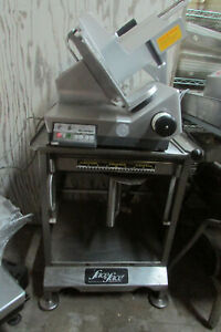 Bizerba Se 12d Automatic Manual Commercial Meat Deli Cheese Slicer