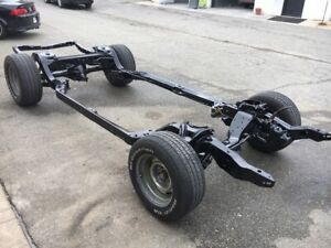 1968 To 1972 Chevelle Rolling Chassis Frame With 12 Bolt Posi Rear End