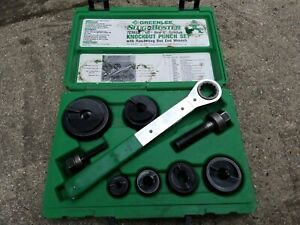 Greenlee Slugbuster Knockout Punch Set 7238sb
