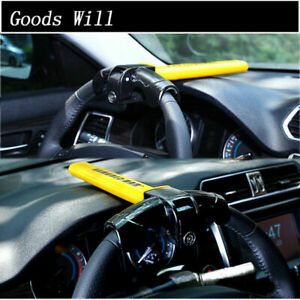 Anti Theft Security Rotary Steering Wheel Lock Top Mount For Suv Auto Car Tool