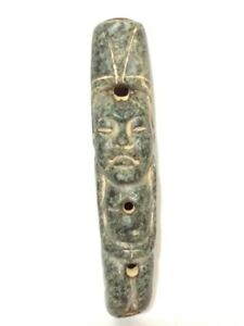 Pre Columbian Style Olmec Lord Small Flute Sounds Clear And Loud 3 Notes