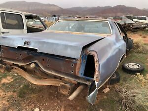 1972 Ford Thunderbird Trunk Lid
