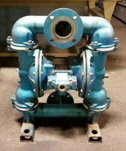 Sandpiper 3 Stainless Steel Pneumatic Double Diaphragm Pump 100 Psi Eb3 sa