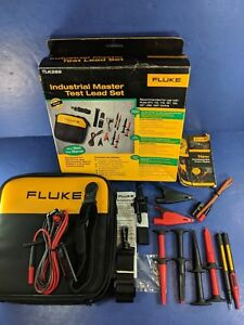 New Fluke Tlk 289 Industrial Master Test Lead Set Original Box