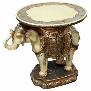 Indian Elephant Center Table