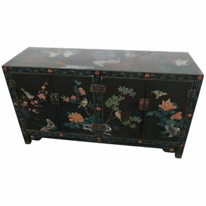 Asian Paint Decorated Cabinet