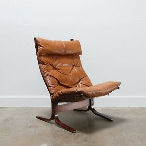 Mid Century Modern Siesta High Back Lounge Chair By Westnofa Furniture