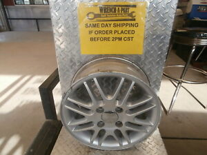 2000 Ford Focus Silver Painted Finished Wheel With Center Cap A15 Lc