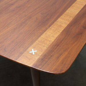 Mid Century Modern Walnut Dining Table By American Of Martinsville