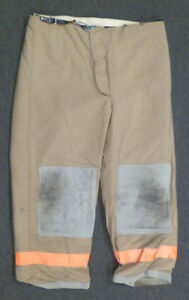 44x30 Pants Firefighter Turnout Bunker Fire Gear Janesville Lion Apparel P985
