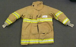 46x35 Firefighter Jacket Coat Bunker Turn Out Gear Globe Gxtreme J458