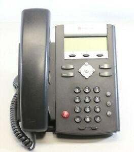 Lot Of 12 Polycom Soundpoint 331 Ip Voip Office Business Phone W Handset