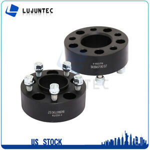 2pc 50mm 2 5x4 5 5x114 3 Hubcentric Wheel Spacers For 2002 2012 Jeep Liberty