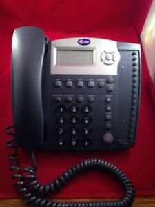 At t Model 945 Small Business 4 Line Speaker Phone As Pictured
