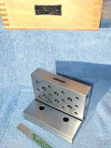 Angle Plate 654 Victor Tool Co Meriden Ct Machinist Precise Inspect Grind Mill