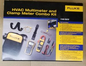 Fluke 116 323 Hvac Combo Kit
