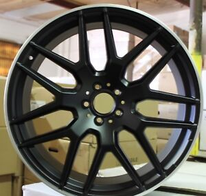 22 Inch Rims Fit All Mercedes Gle Gls Ml Gl Amg63 43 Gle Coupe 550 Black Wheels