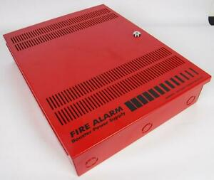 Edwards Est Bps10a Fire Alarm Booster Power Supply Box No Keys Working