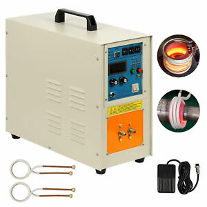 220v 15 Kw 30 100 Khz High Frequency Induction Heater Furnace