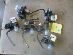 6 Used Tri tech Flowmatic Nozzle Soda Fountain Heads For Parts Free Shipping