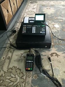 Casio Se s900 Cash Register W credit Card Reader