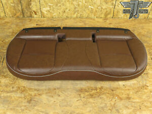 16 18 Fiat 500x Rear Second Row Lower Bottom Seat Cushion Leather Brown Oem