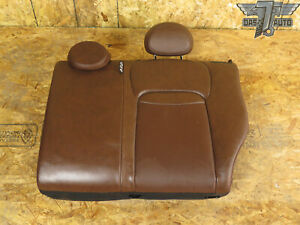 16 18 Fiat 500x Rear Second Row Left Side Upper Seat Cushion Leather Brown Oem