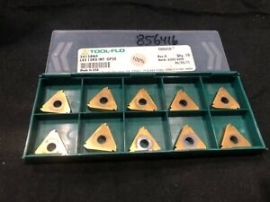 Tool flo 34158n4 Threading Inserts L43 10rd Int 10 Pack Factory Sealed
